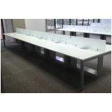 mesa plataforma dupla em madeira Bombinhas