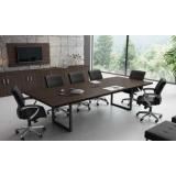 mesa sala de reunião sob medida Itaum