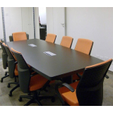 mesa de reunião 8 lugares