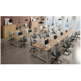 mesas estação de trabalho Baia