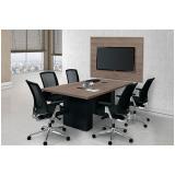mesas para sala de reunião Salseiros