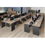 mesas plataforma de trabalho Rio Molha