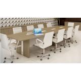 mesas redonda reunião Campo Alegre