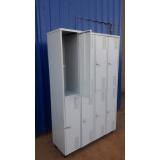 preço de armário roupeiro de aço Bucarein