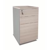 preço de gaveteiro de madeira para escritório Boa Vista