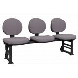 qual o preço de cadeira longarina estofada Araquari