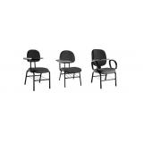 qual o valor de cadeira universitária azul Tifa Monos