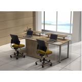 quanto custa mesa para escritório plataforma 2 lugares Estrada Nova
