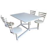 quanto custa mesa para refeitório 8 lugares Santa Luzia
