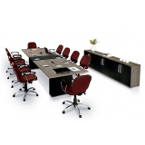 valor de mesa de reunião para escritório América