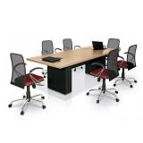 valor de mesa de reunião redonda Pinhais