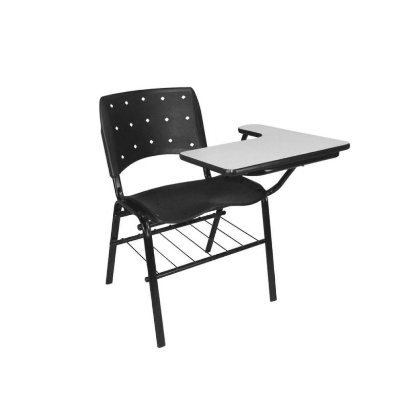 Venda de Cadeira Universitária com Prancheta Frontal Balneario Camboriu - Cadeira Universitária Estofada com Prancheta